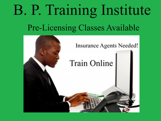 Pre-Licensing Insurance Class