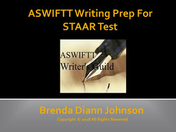 ASWIFTT Writing Prep For STAAR Test