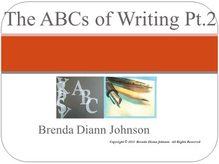 The ABCs of Writing Part II