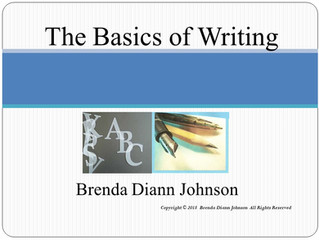 The Basics of Writing