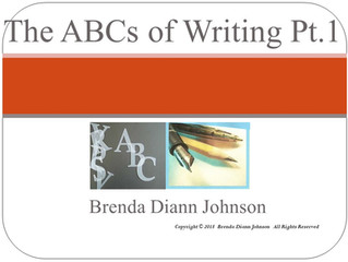 The ABCs of Writing Part I