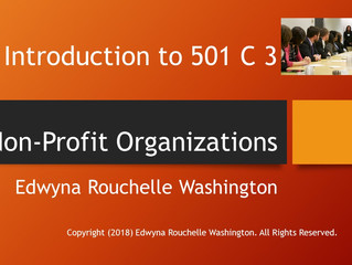 Introduction to 501 C 3