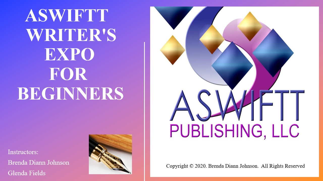 ASWIFTT Writer's Expo Beginners