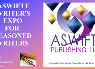 ASWIFTT Writer's Expo For Seasoned Writers