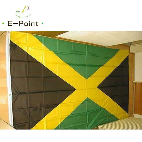 Flag Jamaica Jamaican Large 150*250cm Size Christmas Decorations for Home