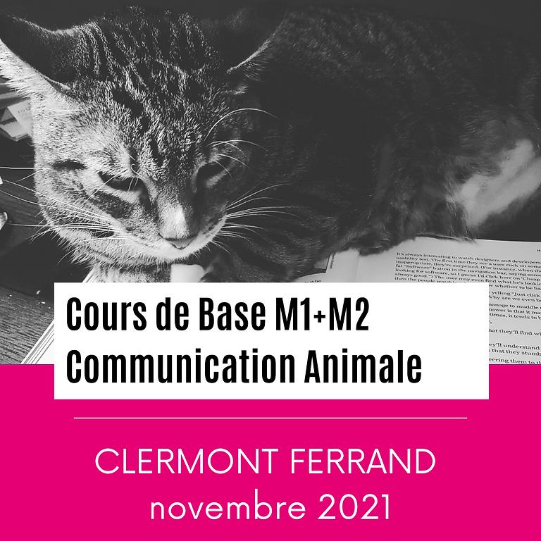 CLERMONT FERRAND Communication Animale / Modules 1 + 2