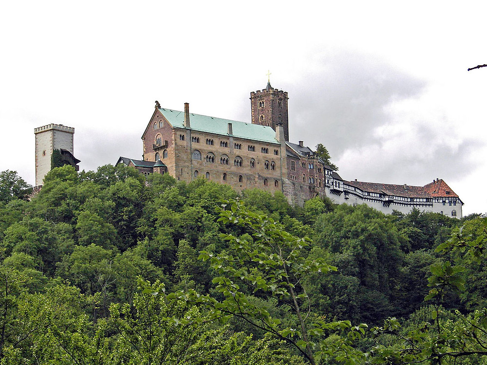 Wartburg Castle (Where Martin Luther Spent Many Months In Hiding)