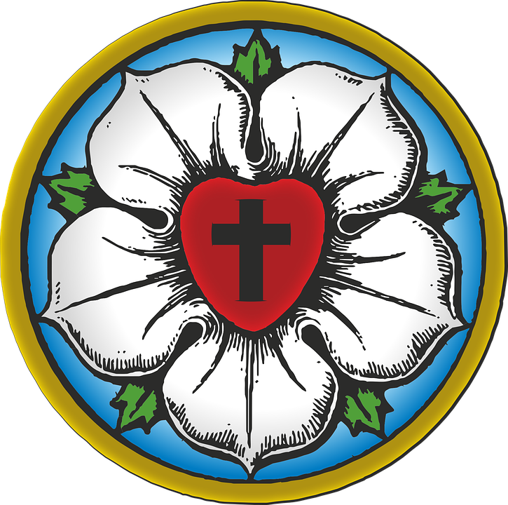Martin Luther's Seal, Lutheranism, Reformation, Protestantism