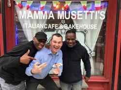 K104 at Mamma Musetti's