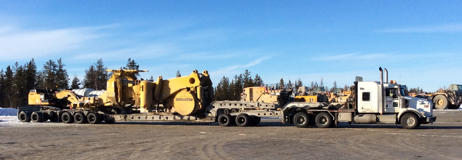 Load for NWT ice road