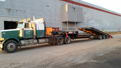 Tilt Deck Equipment Trailer