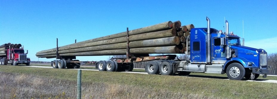 Poles to Ft McMurray