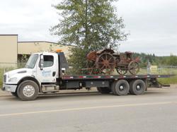 Metal Wheeled Tractor