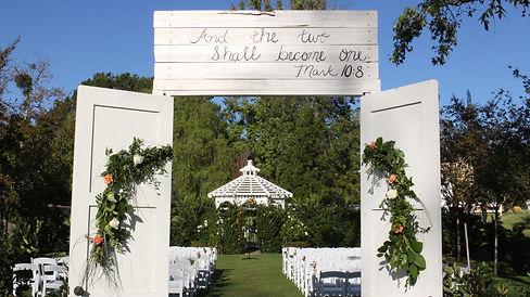 Coto de Caza Country Club wedding, fall wedding ceremony,wedding flowers