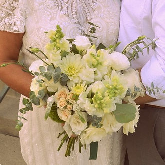 Bridal bouquet, Southern California wedding, Hand Picked Petals, Fullerton wedding, wedding flowers