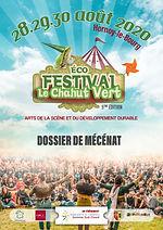 Devenir mécène du Festival Le Chahut Vert