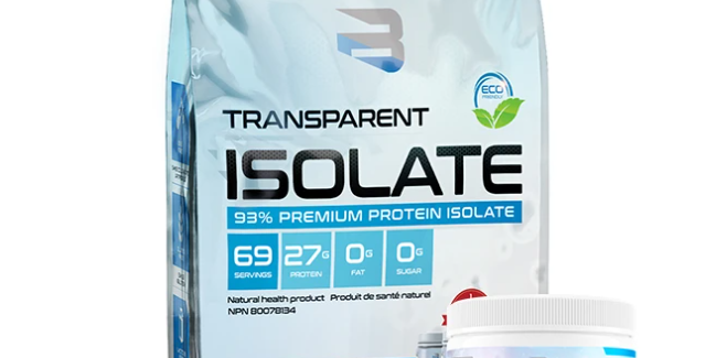 BELIEVE SUPPLEMENT - TRANSPARENT ISOLATE NATURE 4.4LBS