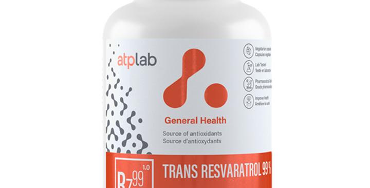 ATP LABS - TRANS RESVERATROL 99% 60 CAPS