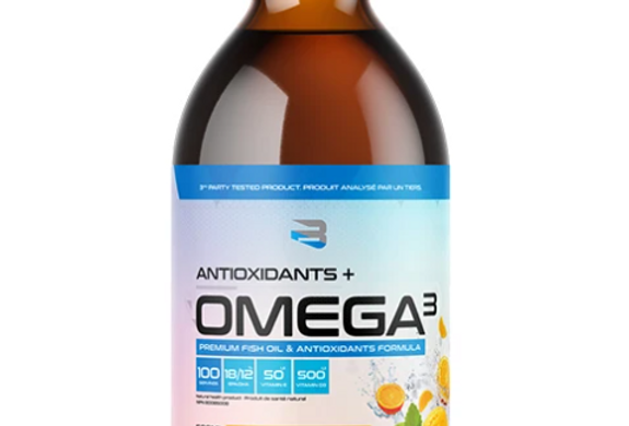 BELIEVE SUPPLEMENTS - ANTIOXYDANTS + OMEGA 3