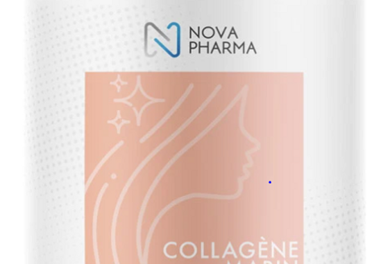 NOVA PHARMA - COLLAGÈNE MARIN + ACIDE HYALURONIQUE 390G