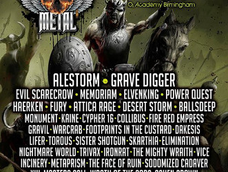 Master's Call join Hard Rock Hell Metal Meltdown 2018