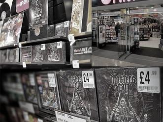 Local Artist: HMV Wolverhampton now stocking 'Morbid Black Trinity!'