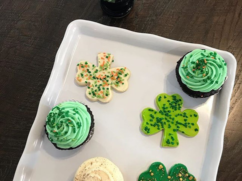 Looking to add a little Irish to your weekend_ Stop by for special whipped cream or Irish Cream in your drinks tomorrow! We also have clover
