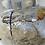 Thumbnail: Uniek kandelaar object doorsnede 30cm.
