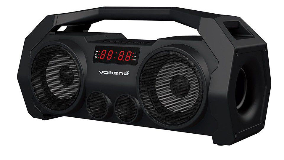 VolkanoX Supersonic series Bluetooth Speaker - Black