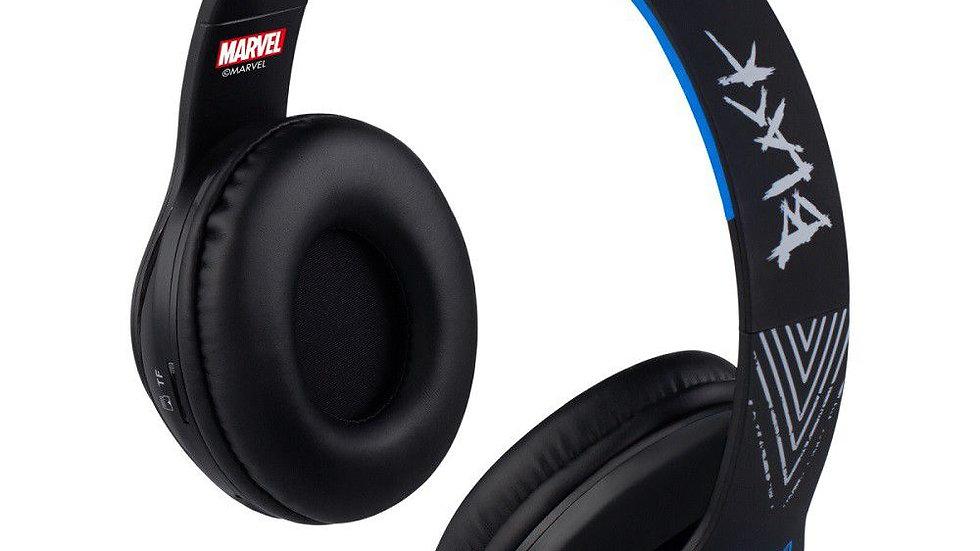 Marvel Adult Bluetooth Headphones - Black Panther