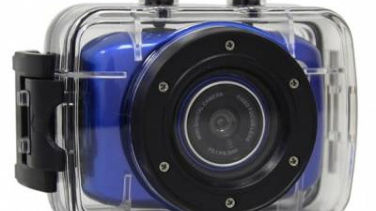Volkano LifeCam HD Camera with accessories -720P - Includes Waterproof Housing