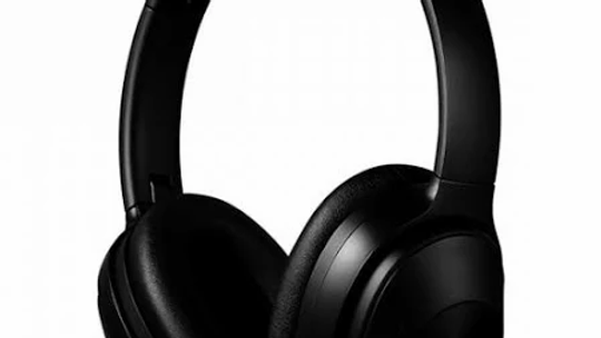 VolkanoX Supreme Series Active Noise Cancelling Headphones - Black