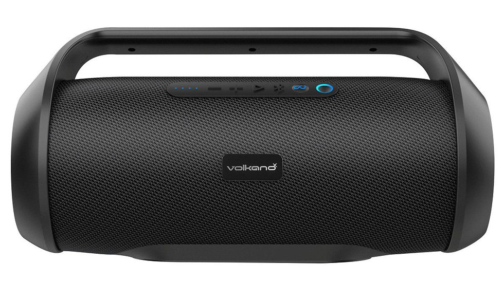 VolkanoX Anaconda Bluetooth Speaker - Black