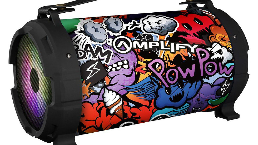 Amplify Thump series speaker - Graffiti Monsters