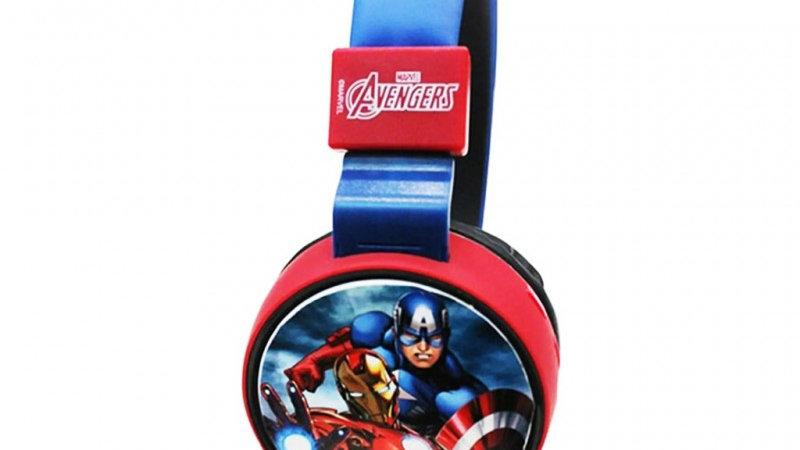 Marvel Kiddies Bluetooth Headphones - Avengers