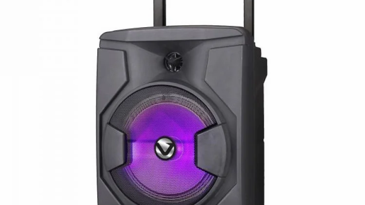 "Volkano Minotaur Series 8"" Bluetooth Trolley Speaker - Black"