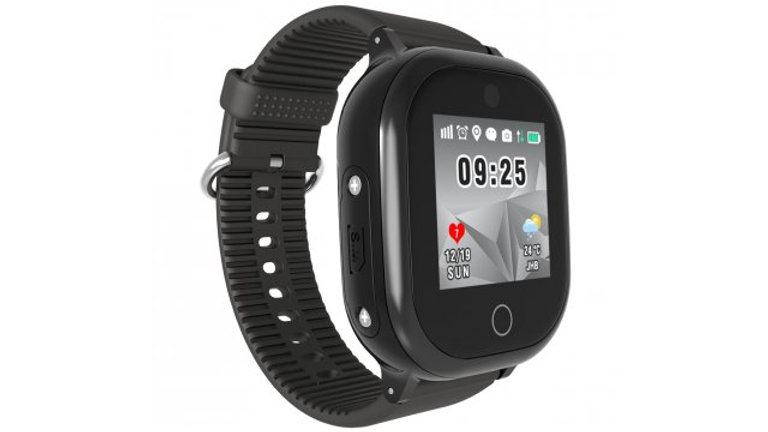 Volkano Find Me Pro GPS Tracking Watch with camera - Black
