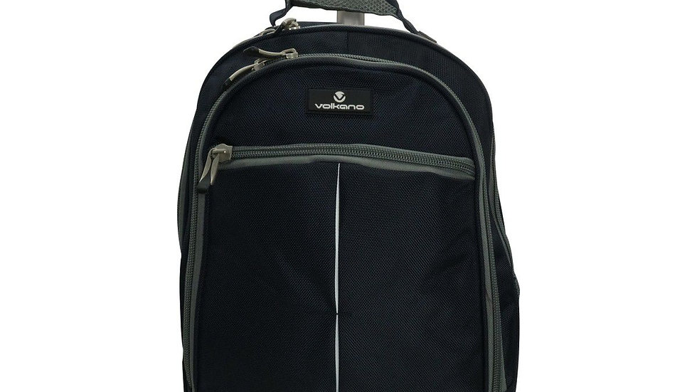 Playground Orthopaedic Backpack 27L; Dark Navy/Grey