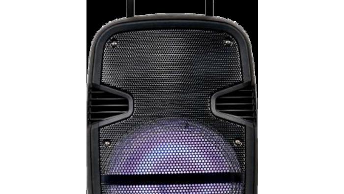 "Amplify Gladiator 15 Series 15"" Bluetooth Trolley Speaker - Black"