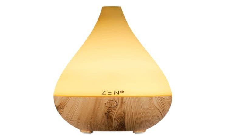 ZEN Aurora Series Ultrasonic Diffuser - Light Wood