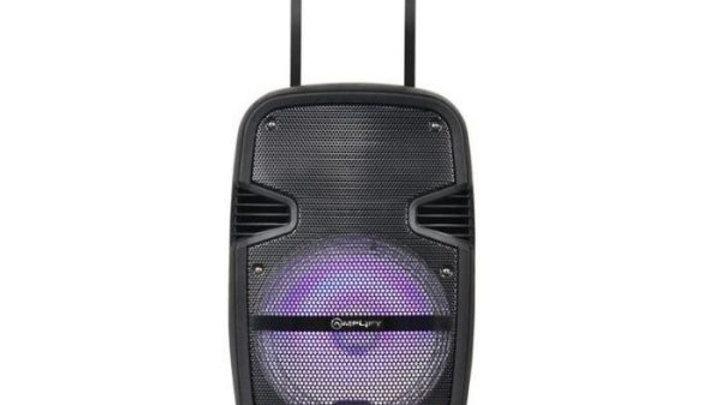 "Amplify Gladiator 12 Series 12"" Bluetooth Trolley Speaker - Black"