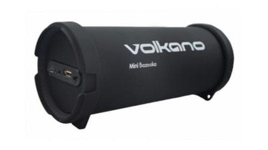Volkano Mini Bazooka series Bluetooth/Aux/USB/FM Radio