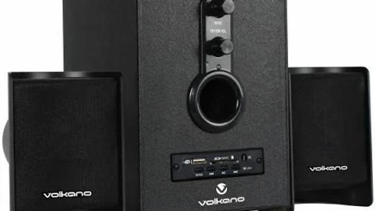 Volkano Pulsar Series 2.1 speaker system with Bluetooth - Black