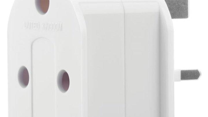 Volkano Journey Series Travel Plug SA Socket To UK Plug