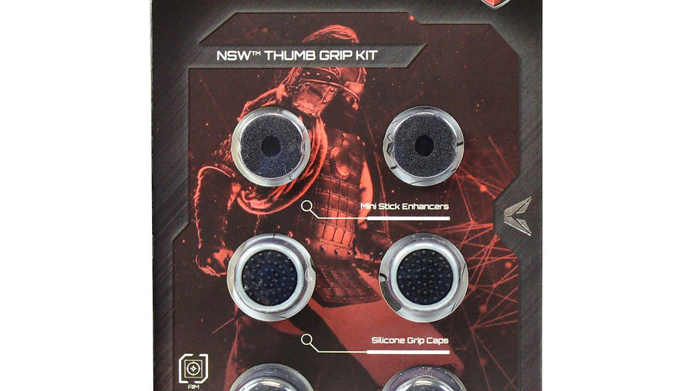 VX Gaming Samurai Series Silicon Grip Caps (Nintendo Switch)