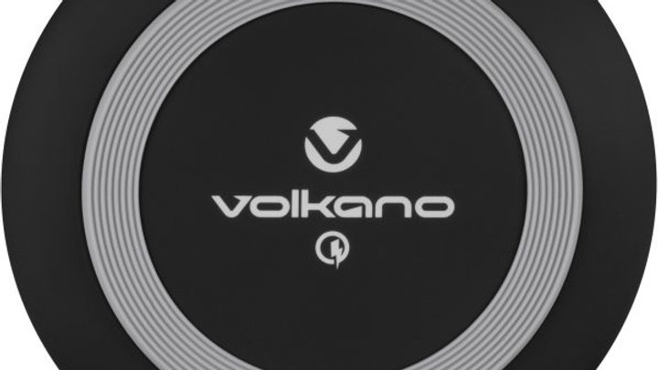 Volkano Release Series Wireless Qi Phone Charger - Black
