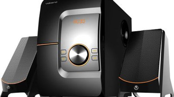 VolkanoX Comet Series 2.1 Speaker System - Black