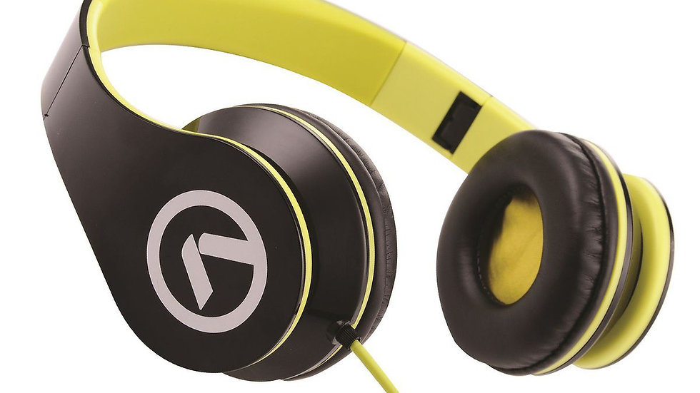 Amplify Low Ryders Headphones - Black/Green