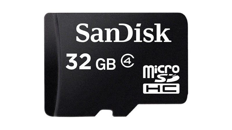 Sandisk Micro SD HC 32GB Class 4 Card