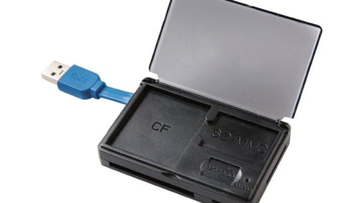 Volkano Reader Series USB 3.0 Card Reader - Black